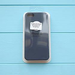 Накладка Apple Silicone Case для iPhone 5/5S Midnight Blue