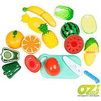 Детский игровой набор овощей и фруктов для нарезания