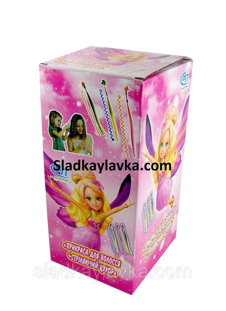 Карамель Hair accessory with стріляє цукор 30 шт (ВП Дніпро)