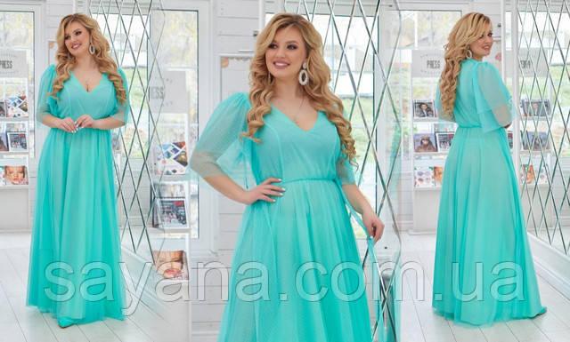нарядное платье батал