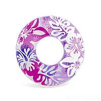 Детский надувной круг для плавания Intex 59251 91 см