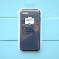 Накладка оригинальная Apple Silicone Case для iPhone 7, 8 Midnight Blue, фото 1