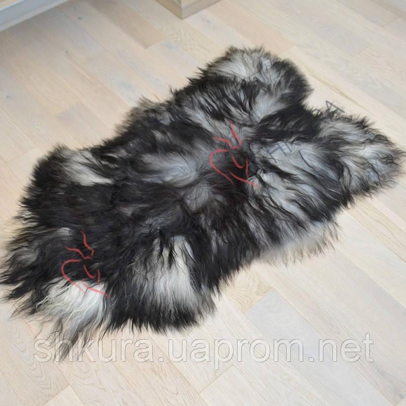 Шкура овцы исландской породы серого цвета 03