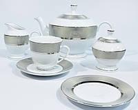 Сервиз чайный Bougucice Opal Platin 12/27 122701