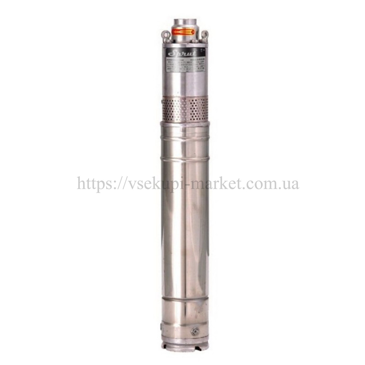 Скважинный насос SPRUT QGDа 1,5-120-1.1 + пульт управления
