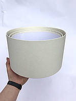 Коробка большая круглая низкая без крышки, фото 1
