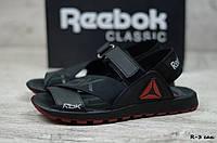 Мужские кожаные сандалии Reebok  (Реплика)  (Код: R-3 сан) ► [40,41,42,43,44]