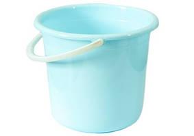 Відро пластмасове з ручкою блакитне 12 л ООПТ