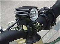 Велосипедная фара Solarstorm на 1 диоде Cree T6  8.4 в  700 люмен