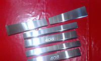Хром накладки на пороги для Peugeot 408, Пежо 408