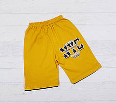 """Детские шорты  на мальчика """" NYC """"  3,4,5,6,7 лет"""