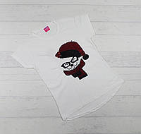 Детская футболка для девочек 8,9,10,11,12 лет