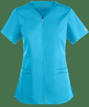 Медицинская блуза (женская) / UA Butter-Soft STRETCH Scrubs Smooth Face Zipper Top