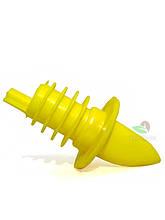 Гейзер-пробка Co-Rect пластик (силікон) жовта
