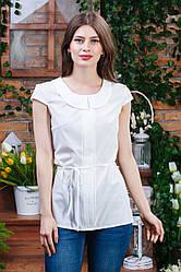 Летняя блуза молочного цвета Бл-6272