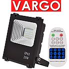 LED прожектор на солнечной батарее Vargo 20W с пультом ДУ (VS-320), фото 2