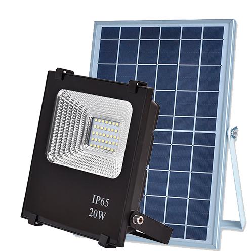 LED прожектор на солнечной батарее Vargo 20W с пультом ДУ (VS-320)