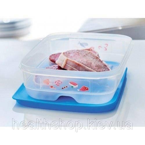Контейнер «Розумний холодильник» (1,8 л) для м'яса і риби Tupperware (Оригінал) Тапервер