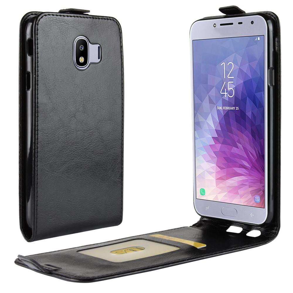 Чехол книжка для Samsung  J4 2018 / J400 Флип Черный