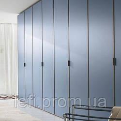 Шкафы с распашными фасадами МДФ в пленке на фурнитуре Linken System или GTV
