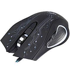 ➤Игровая мышь iMICE X9 USB Black с подсветкой оптическая проводная компьютерная для ПК 2400 DPI