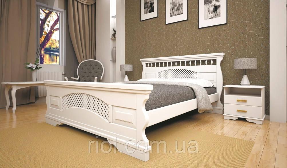 Кровать из натурального дерева Атлант 23 ТМ Тис