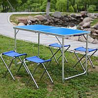 Стол складной для пикника + 4 стула, фото 3