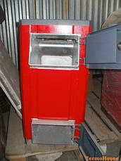 """Угольный котел """"Kuper"""" мощностью 15 кВт (Купер) с механической автоматикой (регулятор тяги), фото 3"""
