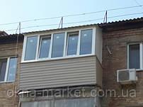 Балкон в хрущевке под ключ Буча, Тарасовская 30