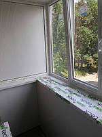 Остекление балкона под ключ Буча, Тарасовская 30