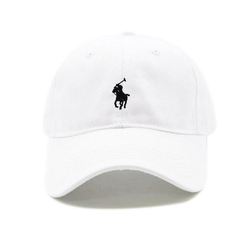 Белая кепка бейсболка Polo Ralph Lauren