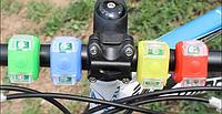 Велосипедный габарит/мигалка ,лягушка 2 LED диода