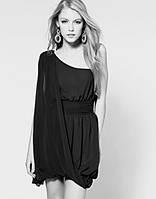 Жіноча нарядна Сукня чорна у грецькому стилі 12 (розмір 46-48) «Paprica»