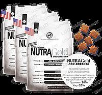Корм для собак и щенков Nutra Gold Pro Breeder (Нутра Голд Про Бридер) 3X1 кг Made in the USA