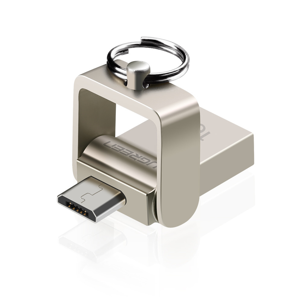 Флеш память Ugreen USB 2.0 to Micro USB 2.0 OTG 16GB (US179)