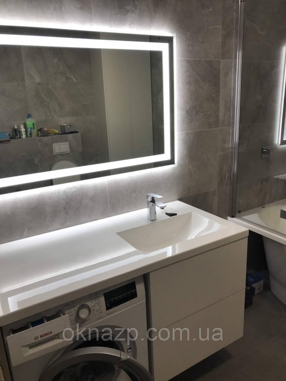Столешница для ванной (литой умывальник +2700грн./шт. дополнительно)