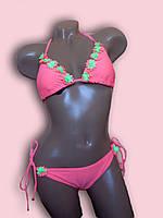 Купальник женский раздельный Pantermode розовый RT14192C