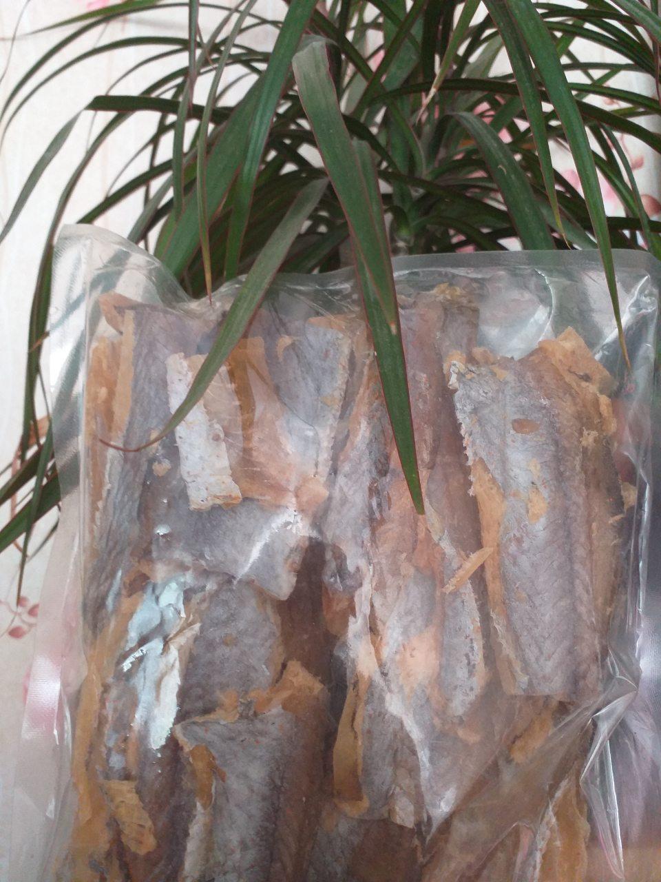 Путассу спинки солёно-сушенный  250 грамм