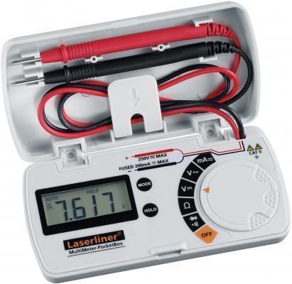 Универсальный мультиметр в удобном корпусе MultiMeter-PocketBox Laserliner 083.028A