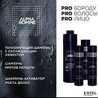 Estel Professional Alpha Homme Тонизирующий шампунь для волос с охлаждающим эффектом