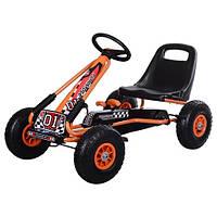 Детская педальная машина веломобиль Карт, фото 1