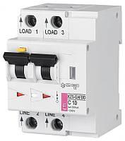 Диффер. автоматический выкл. KZS-EAFDD B 20/0,03 тип A (6kA, с защитой от дуговых замыканий)