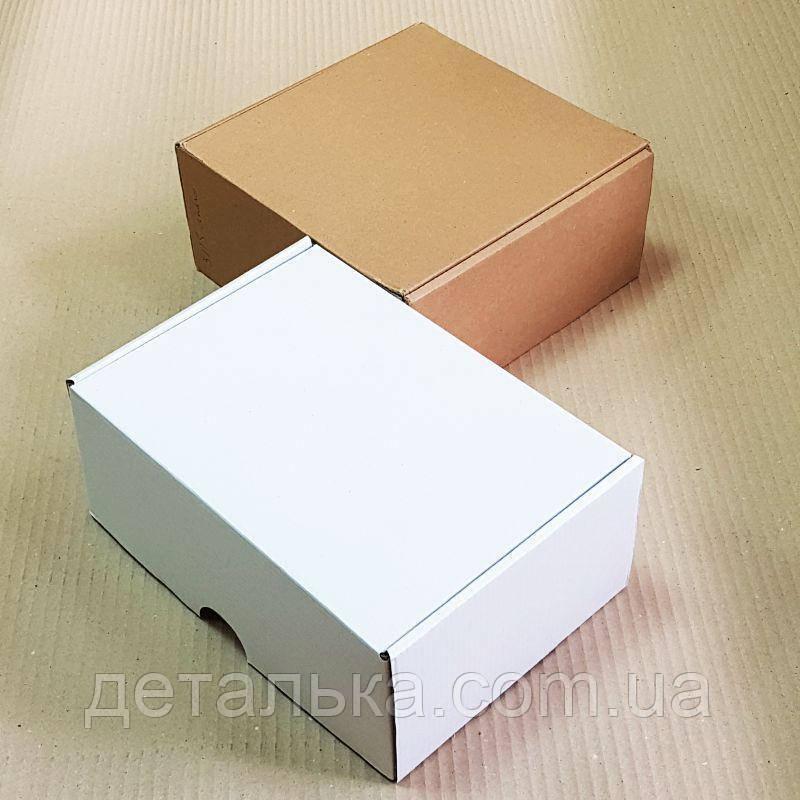 Самосборные картонные коробки 160*110*70 мм.