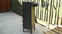 Буржуйка из металла 3 - 4 мм, до 25 м2, герметичная дверь / ручная работа