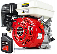 Бензиновый двигатель GX160 6,5 км OHV 19 мм, фото 1
