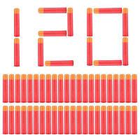 Набор из 120 стрел Мега - мягкие пули для игрушечного оружия Nerf Mega - 138318
