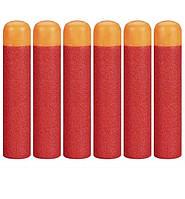 Набор из 6 стрел Мега - мягкие пули для игрушечного оружия Nerf Mega - 138319