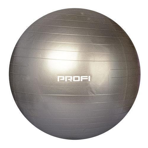 Фитбол Profi Ball 75 см. Серый (MS 1577G)