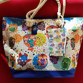 Пляжна сумка Aqua MARE 22416