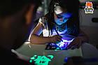 Рисуй светом A3 - Планшет для рисования в темноте + LED фонарик в Подарок!, фото 9